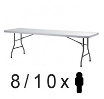 Mesa plegable 180 x 76 cms