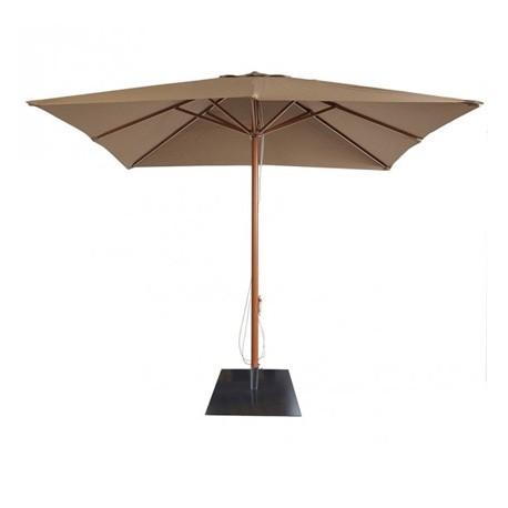 Parasol de Terraza 3 x 3 mts  Burdeos